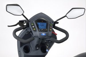 All Terrain Class 3 Mobility Scooter Controls