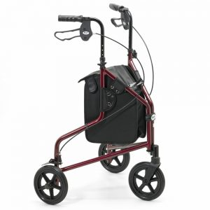 Days 240L Lightweight Aluminium Folding Three Wheel Tri Walker