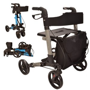 X Cruise elite care folding mobility walker