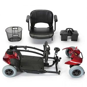 mobility scooter Disassembles into 5 manageable parts - 2 Colours